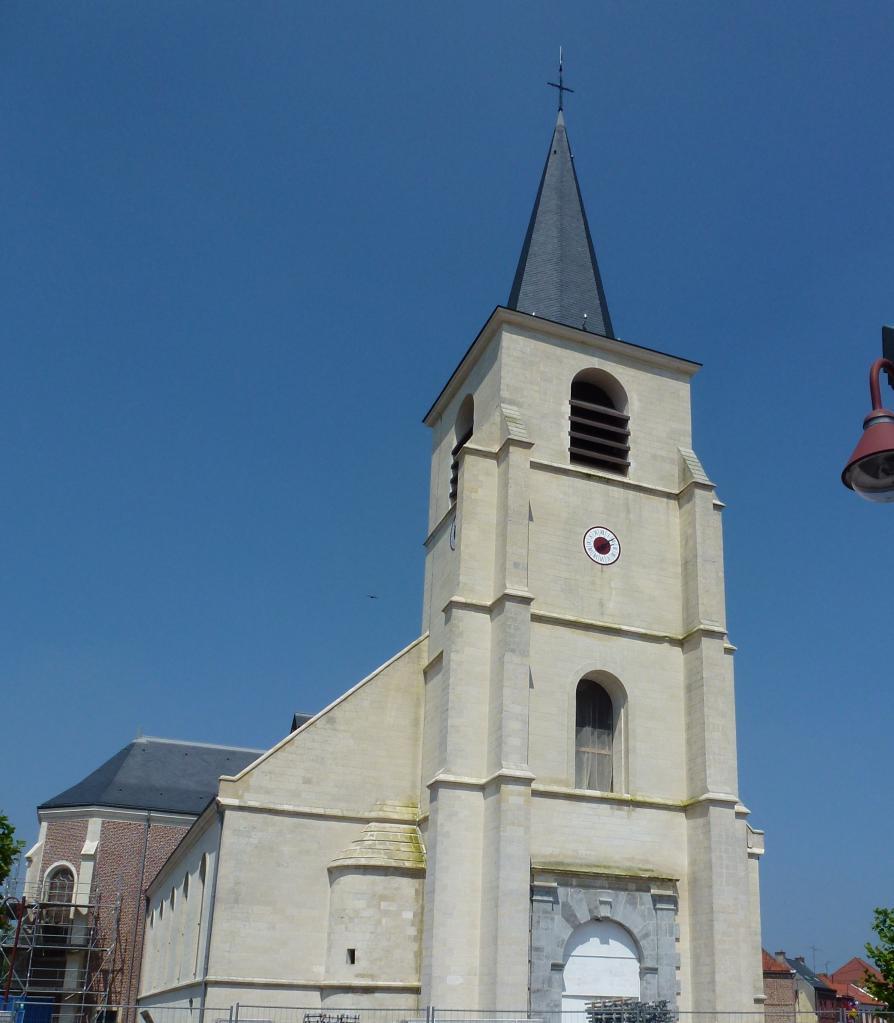 église saint vaast de Wallers