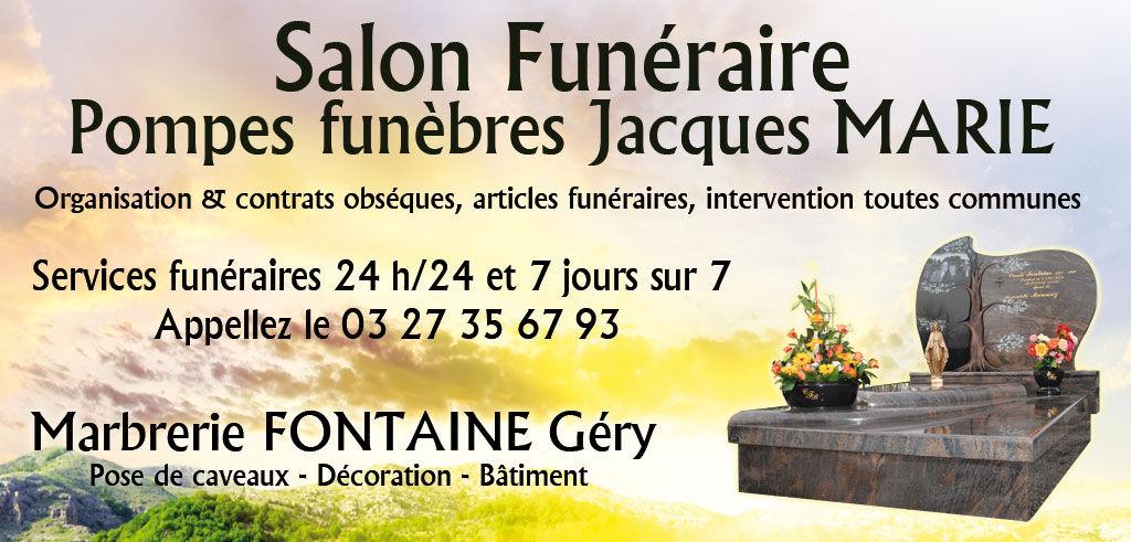 Maquette salon funeraire